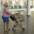 Woman with Shopping Cart, Duane Hanson, 1969