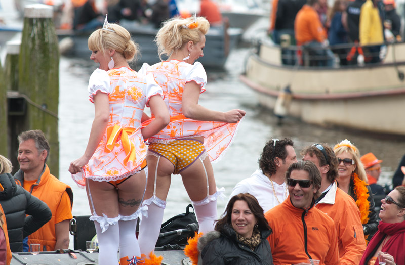 Koninginnedag Amsterdam 2013, Amstel
